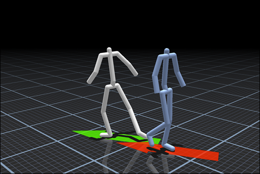 motion fields for interactive character animation