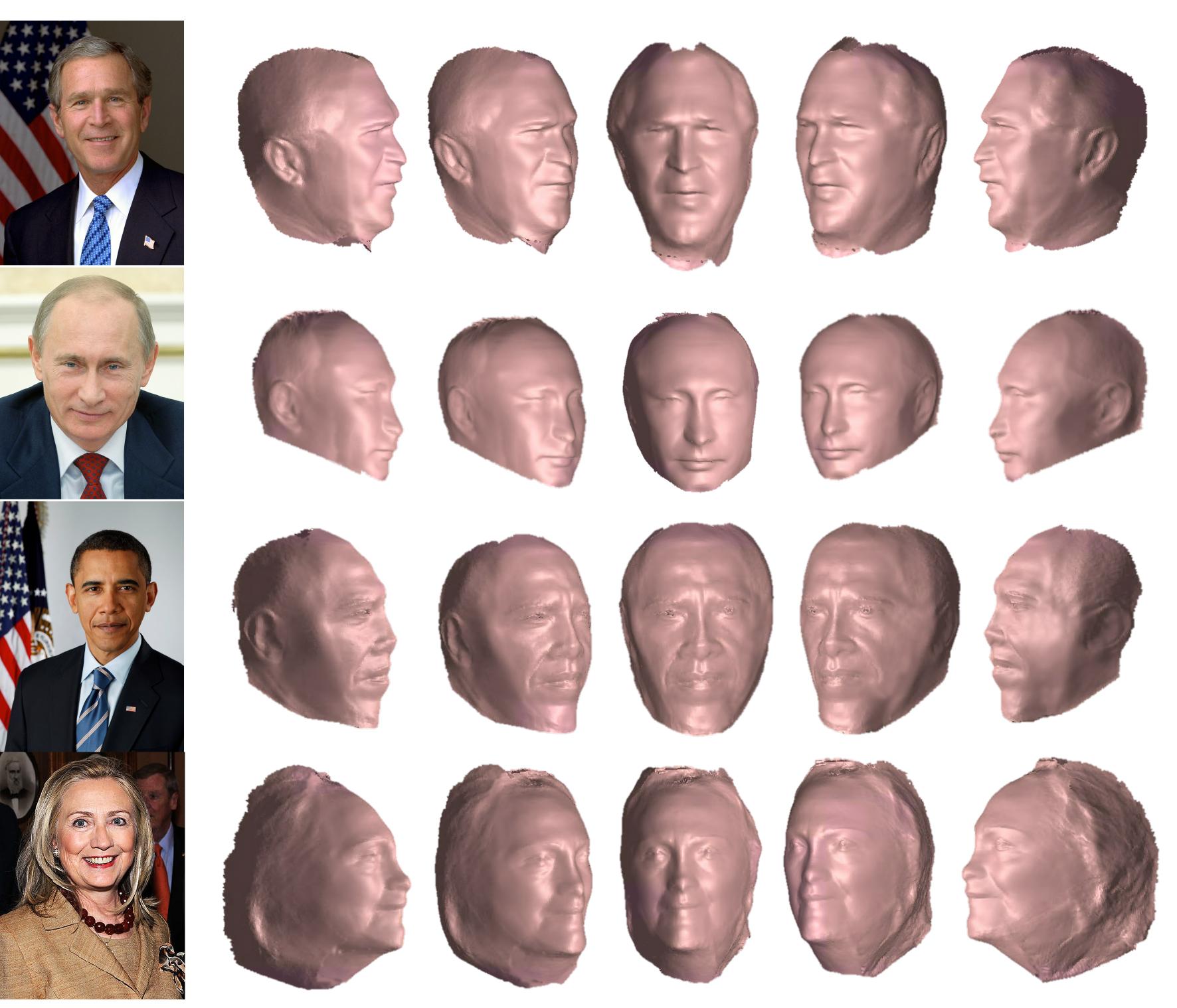 Un Clon del expresidente de EEUU