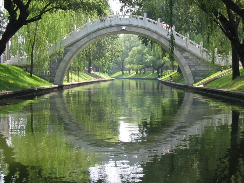 Dewey S China Trip Photos Beijing Black Bamboo Forest